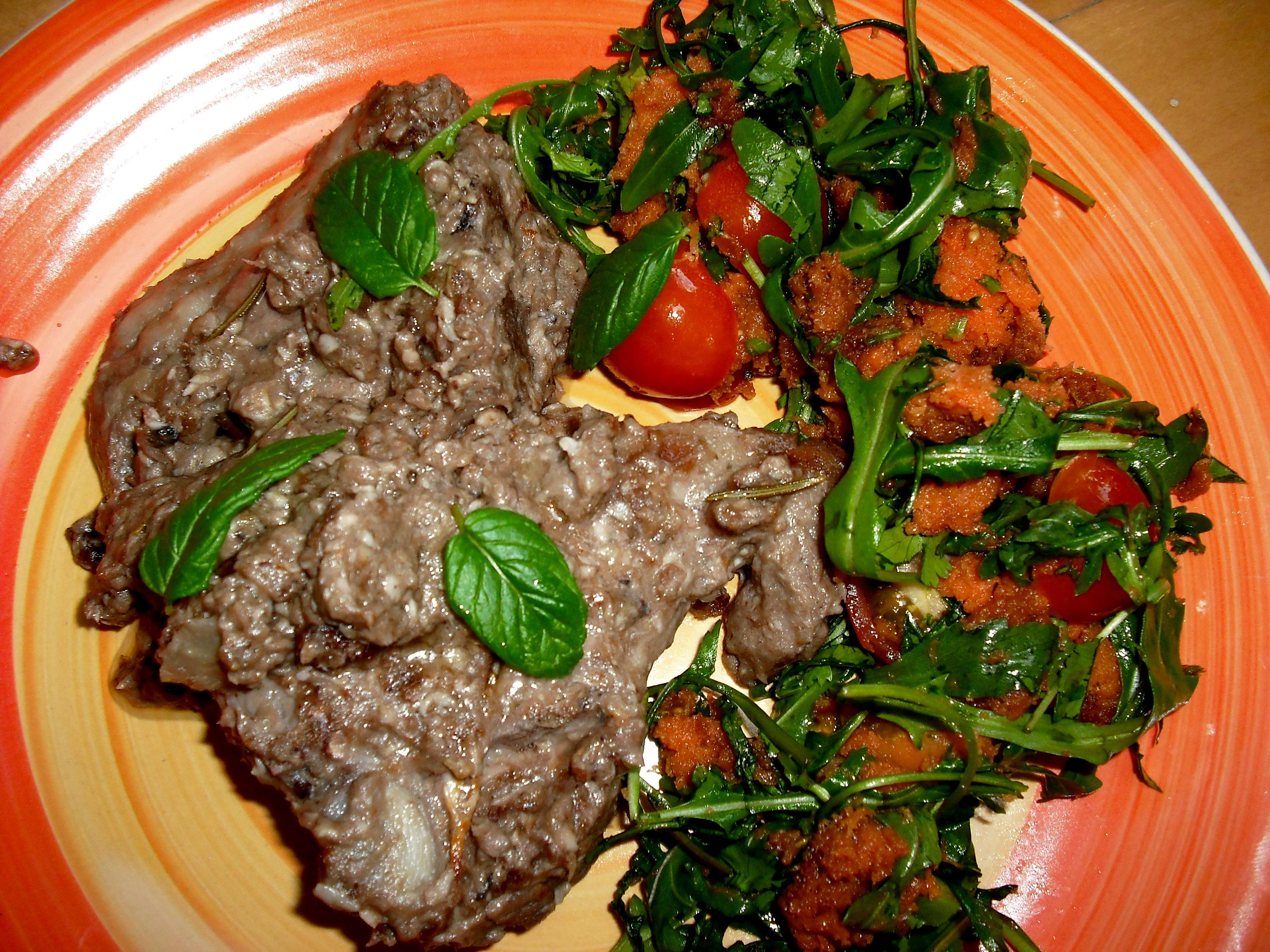 Secondi piatti la mucca pazza for Secondi piatti tipici romani