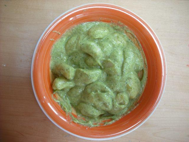 Gnocchi alla crema di zucchine