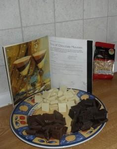 Preparazione mousse